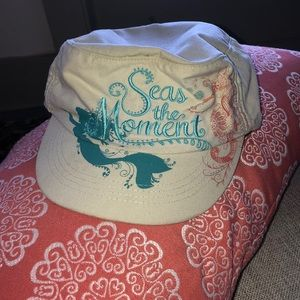 Disney Little mermaid seas the moment hat